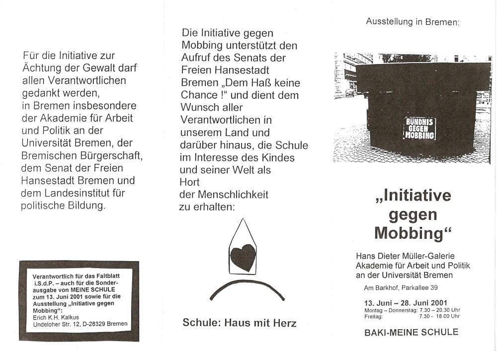 7. Anti-Mobbing-Tag in Bremen / Dr. Peter Wickler wurde mit dem Anti-Mobbing-Award 2010 aus Berlin ausgezeichnet (6/6)